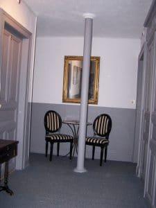 couloir hotel pompadour