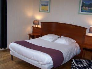 chambre double hotel pompadour